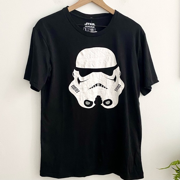 Disney Star Wars Storm Trooper Black Graphic Tee